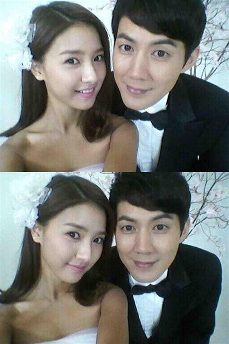 kim  eun  ryoo jin  wedding  shot  hancinema