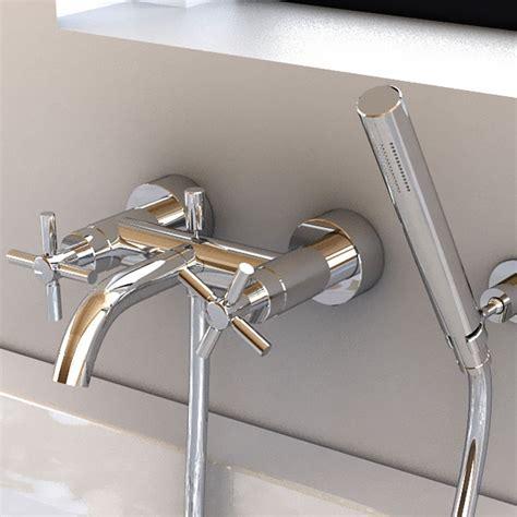 robinet sur baignoire robinet m 233 langeur bain mural et douchette eili