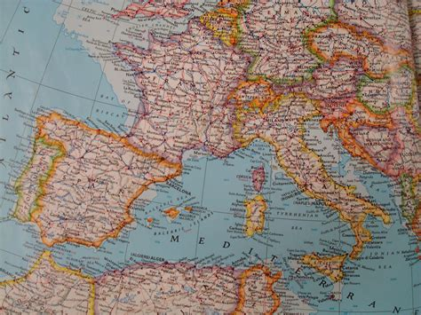 map  spain france  italy  travel information