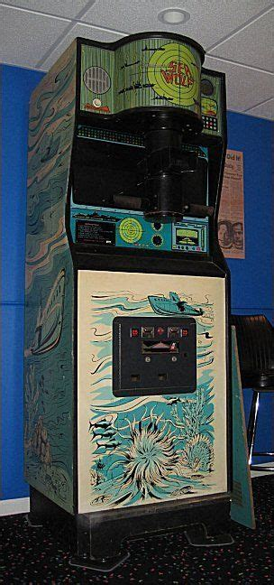 Sea Wolf 1976 Favorite Arcade Games Retro Arcade