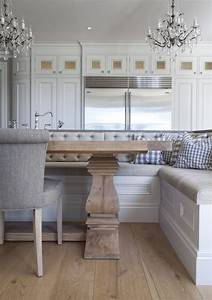Built In Dining Banquette - Transitional - dining room