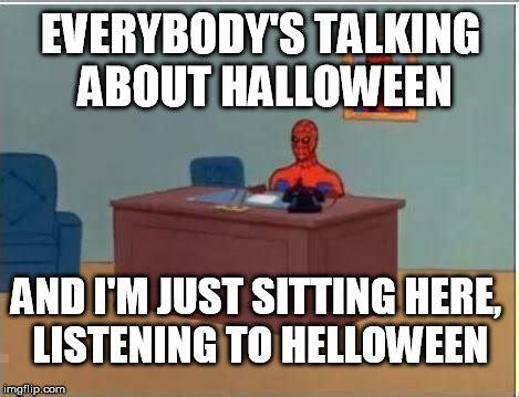 spiderman computer desk memes hot imgflip