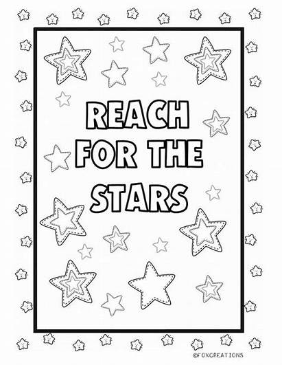 Mindful Coloring Positive Affirmations Sheets