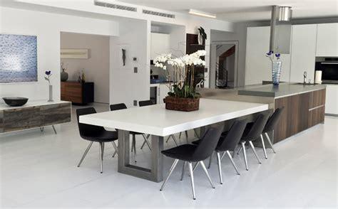 custom concrete kitchen dining tables trueform