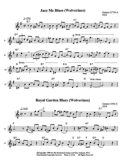 cornet solos bix beiderbecke qpress jazz