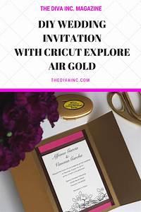diy wedding invitations cricut yaseen for With wedding invitations cricut explore air 2