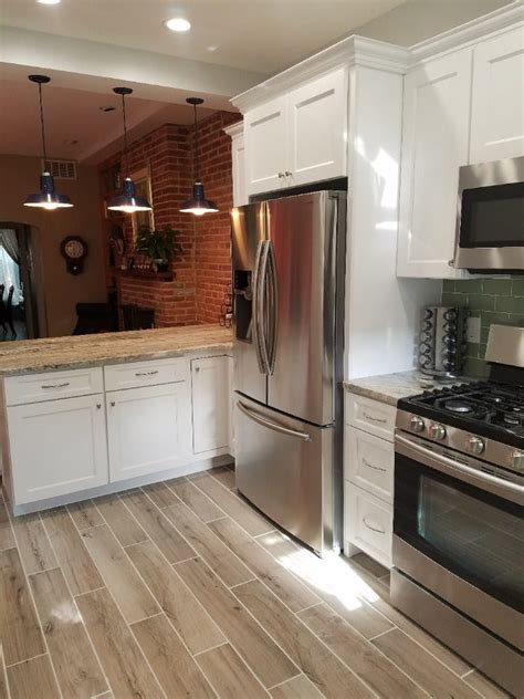 Kitchen Cabinets Baltimore by White Shaker Kitchen Remodel Patterson Park Md Trademark