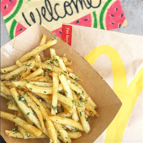 McDonald's Is Now Serving Garlic French Fries on the West ...