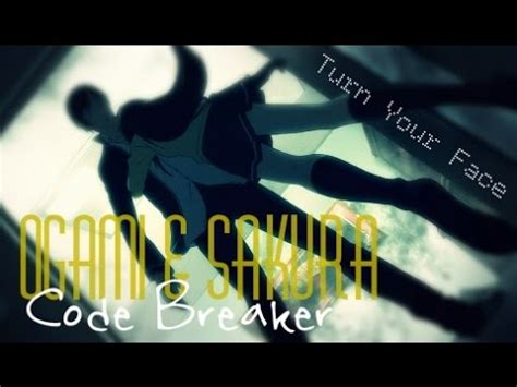ogami  sakura code breaker turn  face youtube
