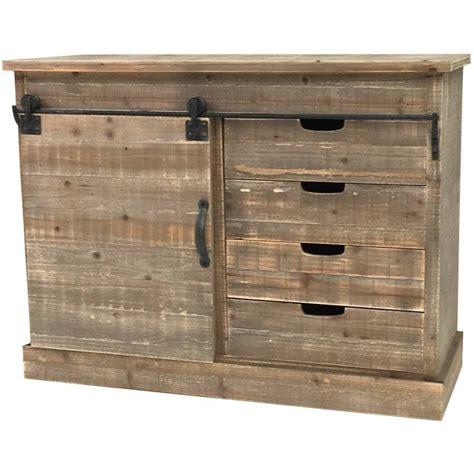meuble de cuisine industriel bahut console commode meuble cuisine salon rangement