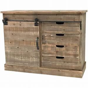 Meuble De Cuisine En Bois : bahut console commode meuble cuisine salon rangement ~ Dailycaller-alerts.com Idées de Décoration