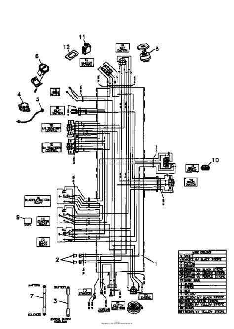bunton bobcat 942202 all zt200 power unit 22 hp kohler parts diagram for wiring harness