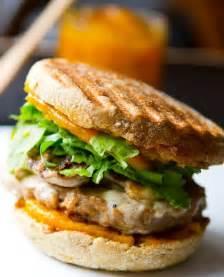 Pumpkin Breakfast Sandwich