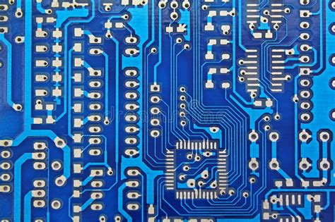 Printed Circuit Board Pcb Stock Image