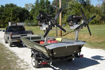 Fan Boat Conversion by Airboat Propellers Ultralight Aircraft Parts