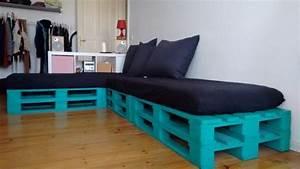 Sofa Aus Matratzen : paletten sofa palettensofa mit matratzen und kissen in berlin polster sessel couch kaufen ~ Indierocktalk.com Haus und Dekorationen
