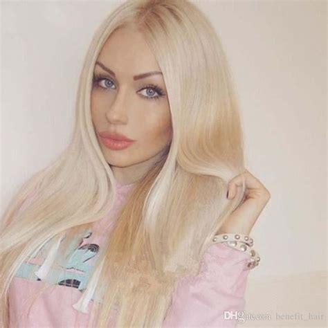 Brazilian Hair Light Blonde 1b613 Ombre Human Straight
