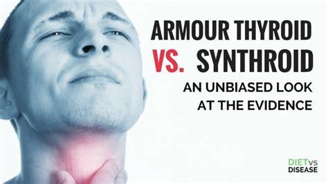 armour thyroid  synthroid  unbiased