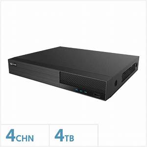 Viper 4k 4 Channel Nvr With 4tb Hdd