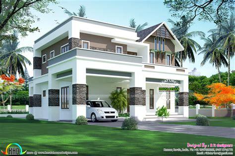 2823 Sq-ft, 4 Bhk Modern Home