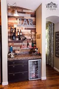 Wine Bar, Pallet wall, bar, modern, contemporary