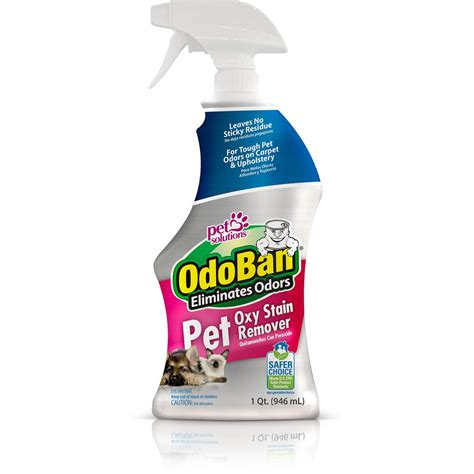 Stain Remover Products by Odoban 32 Oz Pet Oxy Stain Remover 961561 Q The Home Depot