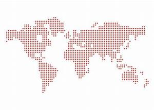 Dotted Vector World Map (.Ai) скачать бесплатно | GraphicsLand