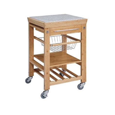 kitchen island and cart home decorators collection 22 sq in bamboo kitchen