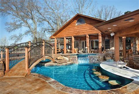 This Amazing Pool And Backyard Playground Provides Plenty