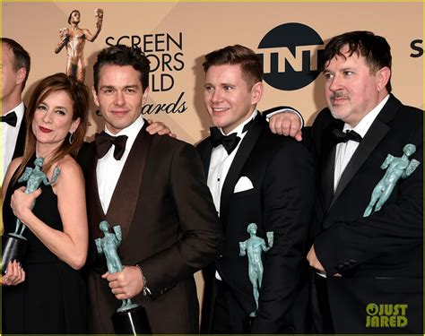 tom cullen downton abbey downton abbey cast wins at sag awards 2016 photo