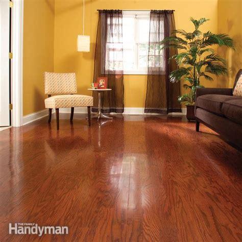 refinish hardwood floors   day  family handyman