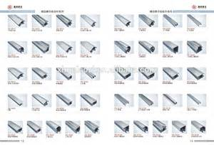 Cabinet Wholesaler by Extruded Aluminium Profile For Showcase Aluminum Extrusion