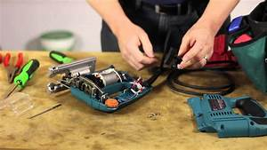 How To Repair A Saber Saw Switch   Lawn Care  U0026 Power Tools