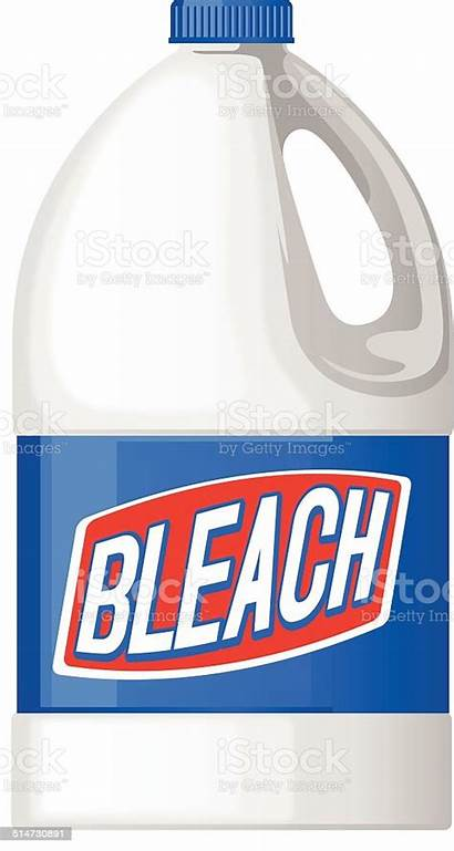 Bleach Bottle Clipart Vector Clip Illustration Cliparts