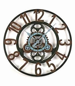 Grosse Pendule Murale : horloge murale pendule murale horloge design horloge ~ Teatrodelosmanantiales.com Idées de Décoration