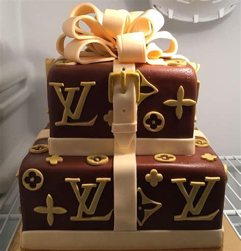louis vuitton birthday cake cake design cookie cake