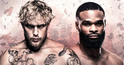 1 day ago · paul vs. Jake Paul vs. Tyron Woodley: When it takes place and how ...