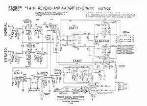 Fender Twin Reverb Schematic