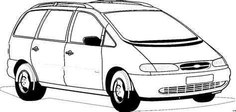 familie auto ausmalbild malvorlage auto