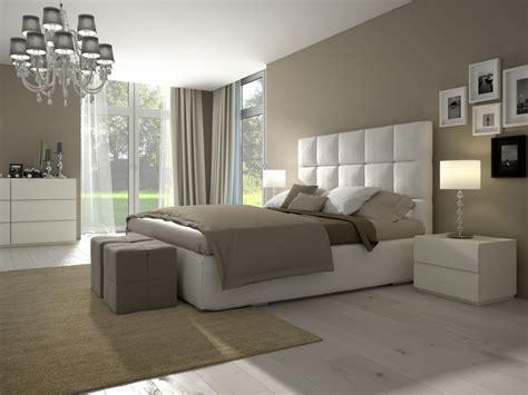 chambre reposante chambre à coucher aux couleurs naturelles