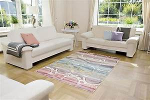 tapis colore moderne pour salon adamo With tapis salon coloré