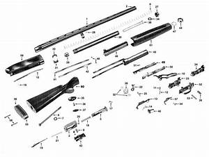 30 Winchester Model 1200 Parts Diagram