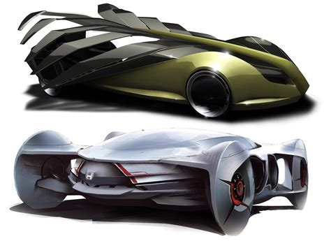 Futuristic Concept Cars  Car Body Design
