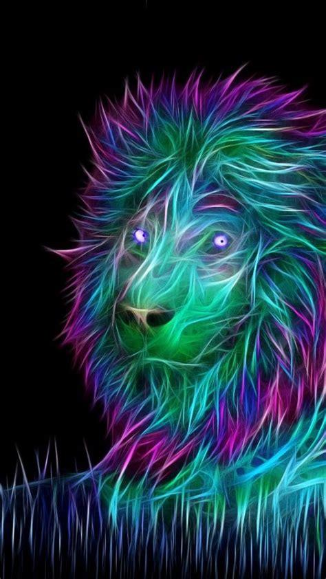 abstract lion art  wallpaper abstract  art