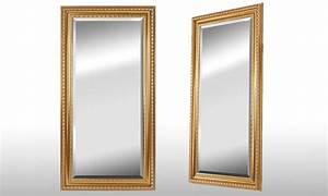 Grand Miroir Vintage : miroir dor groupon shopping ~ Teatrodelosmanantiales.com Idées de Décoration