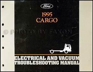 1995 Ford Cargo Repair Shop Manual Original