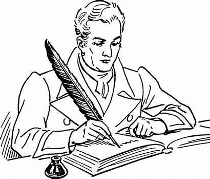 Clipart Author Writer