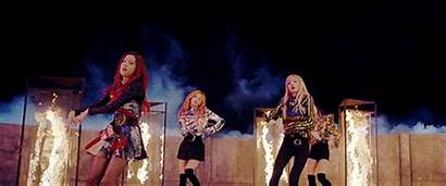 Fire Playing Blackpink Songs Pink Very Favorite