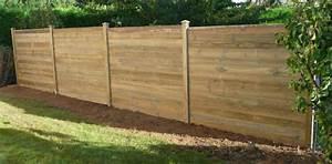Comment Fixer Un Poteau Bois Au Sol : comment fixer palissage bois sur le sol et sur un muret ~ Dailycaller-alerts.com Idées de Décoration