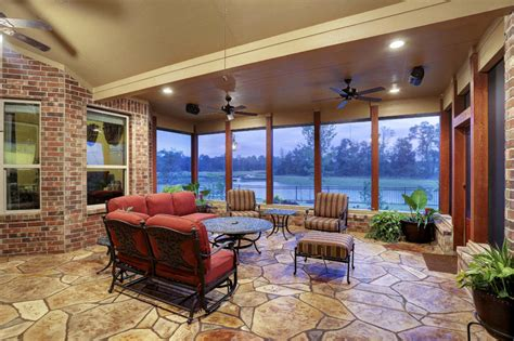 screened porch in northeast houston custom patios